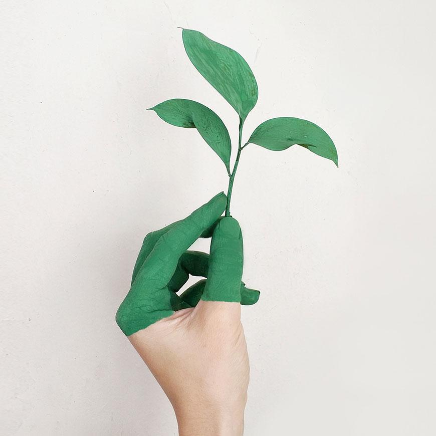 Nachhaltig und vegan – mit unseren Etiketten kleben Sie umweltschonend!