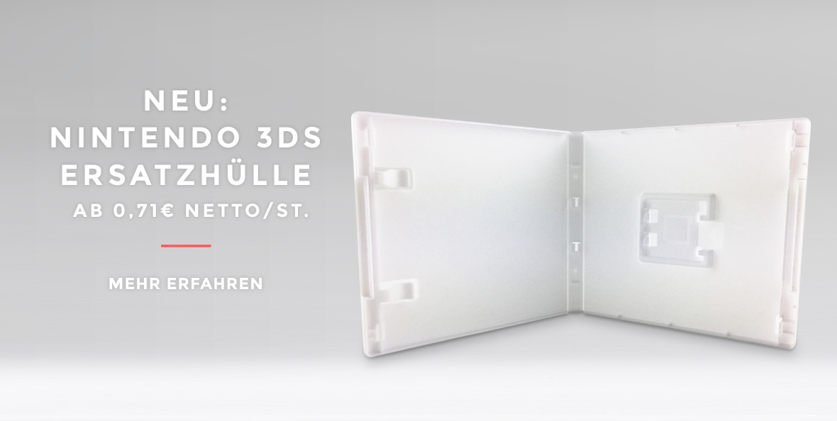 Neu: Nintendo 3DS Ersatzhülle