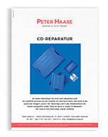 Vorschaubild CD-Reparatur Katalog Peter Haase