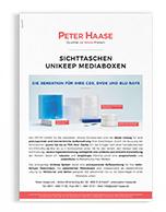 Vorschaubild Sichttaschenkatalog Peter Haase