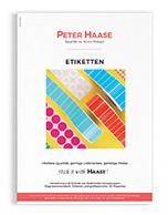 Vorschaubild Etikettenkatalog Peter Haase